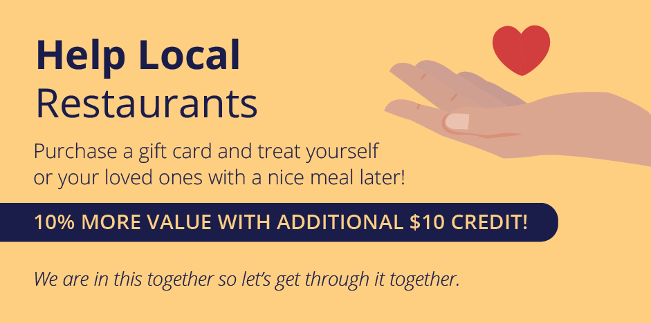 Support us gift card